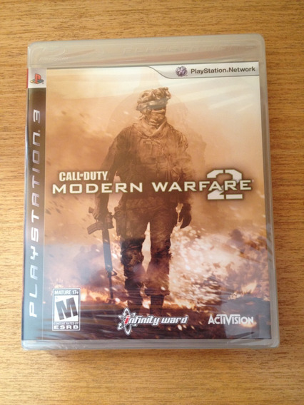 Call Of Duty: Modern Warfare 2 Ps3 Lacrado Midia Fisica