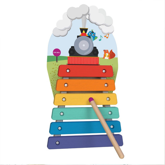 Brinquedo Educativo - Xilofone - Oribel
