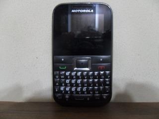 Celular Motorola Motokey Mini Ex108 Op. Vivo Com Carregador