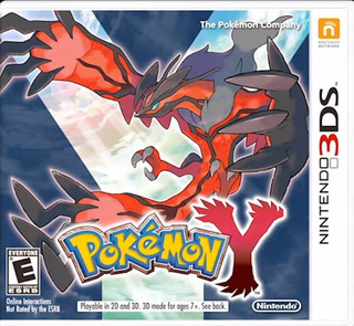 Pokemon Y 3ds (original ,nuevo Y Sellado De Fabrica)