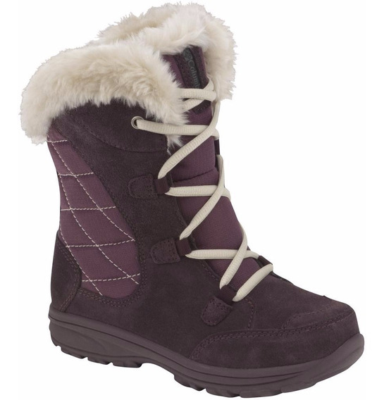 Bota De Nieve Columbia Youth Ice Maiden Talle 36 Para Dama
