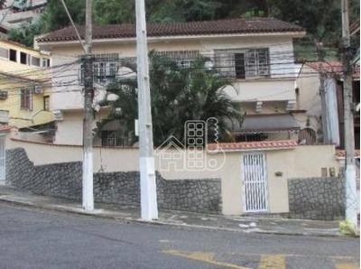 Casa Residencial À Venda, Pe Pequeno, Niterói. - Ca0723