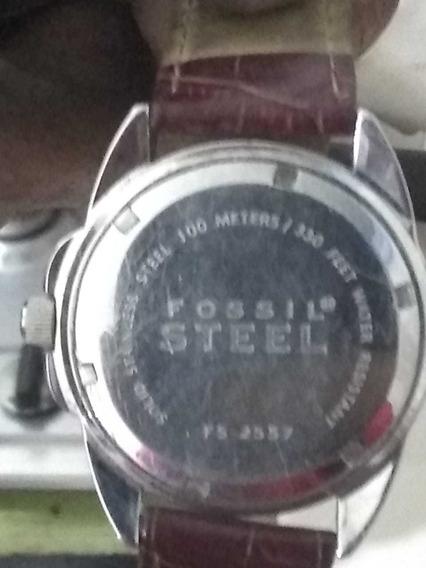 Reloj Fosil Original Extensible Piel Cocodrilo