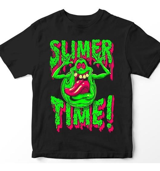 Nostalgia Shirts- Ghostbusters: Slimer Time!
