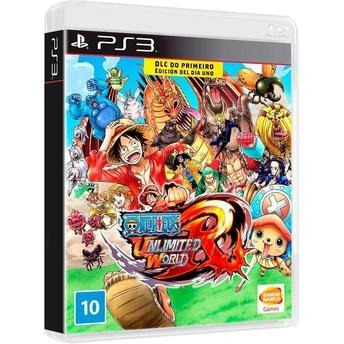 One Piece Unlimited World Red - Ps3 Lacrado