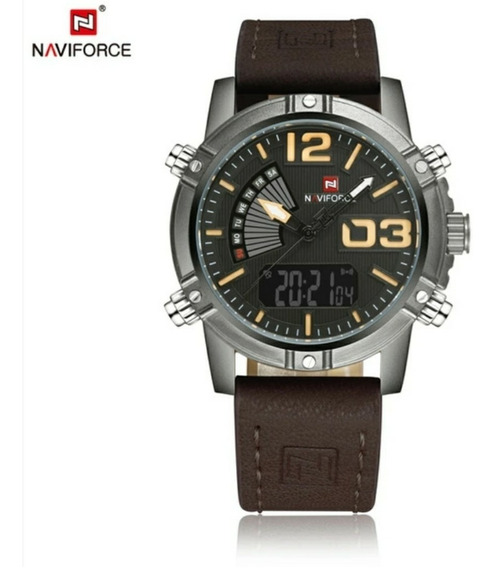 Relógio Naviforce Original Masculino Militar Frete Grátis