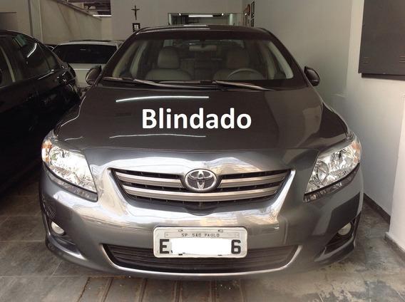 Corolla 1.8 Xei 2010 Blindado