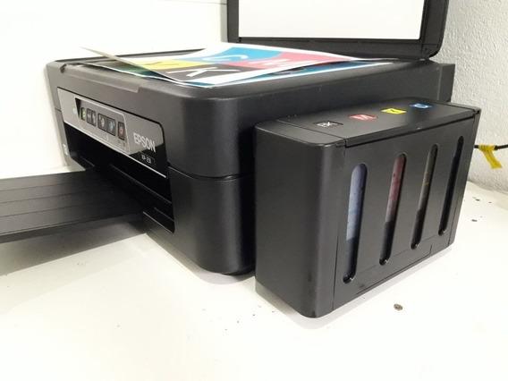 Epson Multifuncional Xp 241 Com Bulck E Tintas Sublimaticas