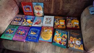 Dvd Los Simpsons 12 Temporadas Y De Regalo 2 Dvds