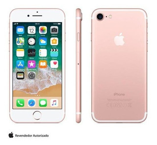 iPhone 7 Ouro Rosa Tela 4,7 4g 128 Gb 12 Mp Mn952br/a