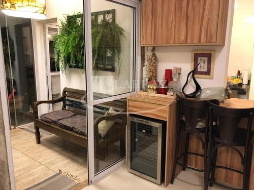 Apartamento  Com Quintal Privativo Para Venda Nos Bosque Das Caviunas No Jardim Sao Jose, 3 Dormitorios 1 Suite, Quintal Com Churrasqueira Em 114  M2 - Ap01454 - 34109247