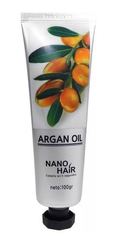 1 Crema De Argan Nano Hair 100gr Cabello Y Corporal