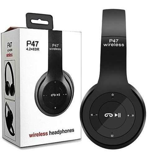 Headphone Bluetooth Wireless Dobrável