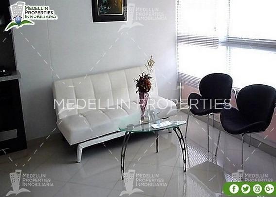 Alquiler De Apartamentos Amoblados En Medellín Cód: 4602