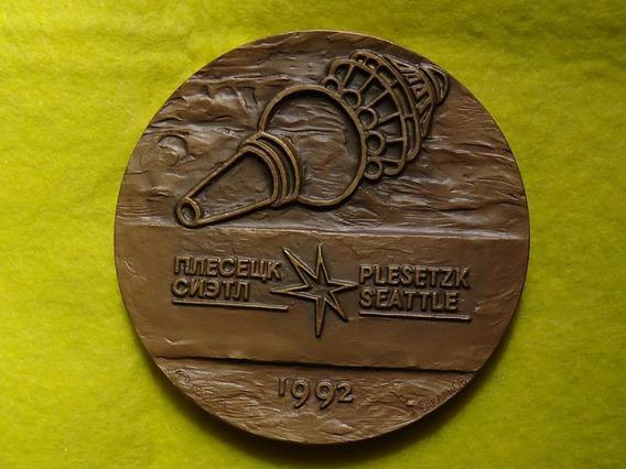 Medalla Viaje Espacial Nasa