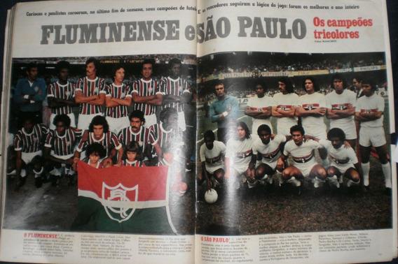 Manchete 1975 Fluminense E São Paulo Campeão - Padre Cícero