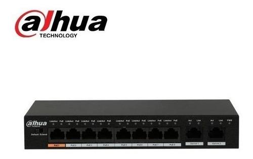 Dahua Seguridad Switch Poe  Switch 8+2 Puerto 10/100 Pfs3110