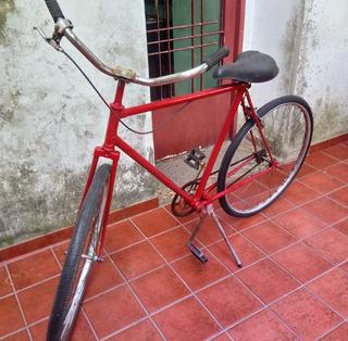Bicicleta De Paseo/r26/color Rojo/adulto