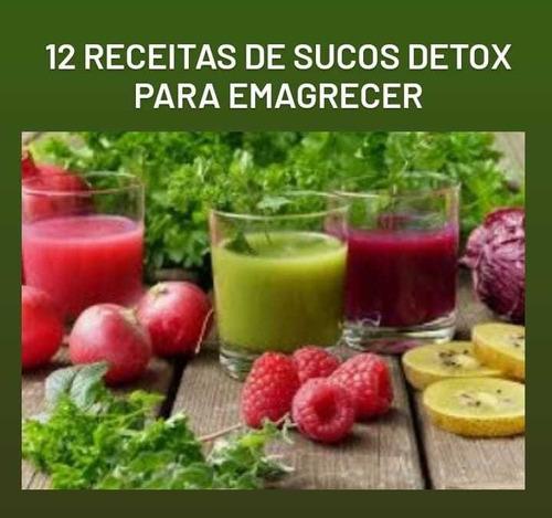 Imagem 1 de 5 de 12 Receitas De Sucos Detox Para Emagrecer