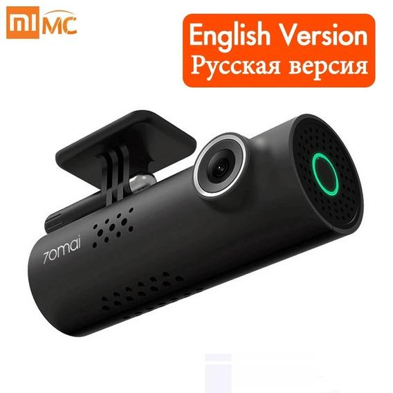 Câmera De Carro Xiaomi Dvr Hd 1080 P Controle De Voz