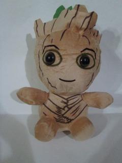 Peluche Baby Groot Sentado - 20 Cm-guardianes De La Galaxia