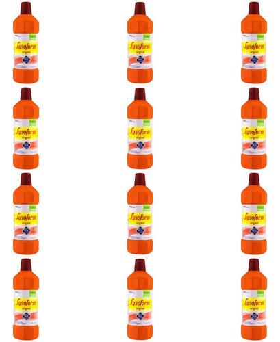 Lysoform Bruto Desinfetante 1 L (kit C/12)
