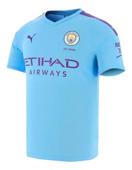 Camiseta Puma Manchester City 19/20 Niños 275558801-27555880