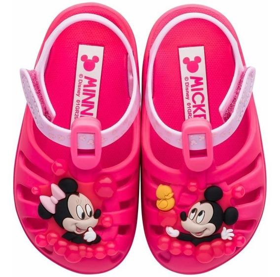 Babuche Sandália Disney Sunny Baby Grendene 22075