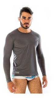 Camisa Térmica Ciclismo Masculina Proteção Uv Solar Fps 50