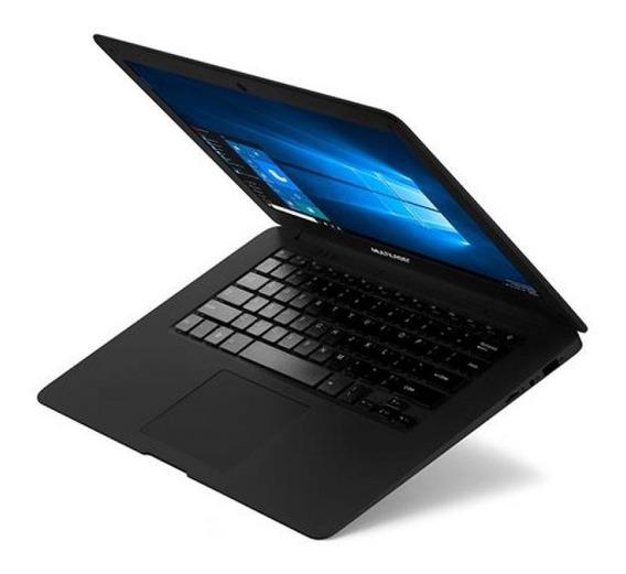 Notebook Quad Core Ram 2gb 64gb (32+32sd) 14? Hd Win10 Preto