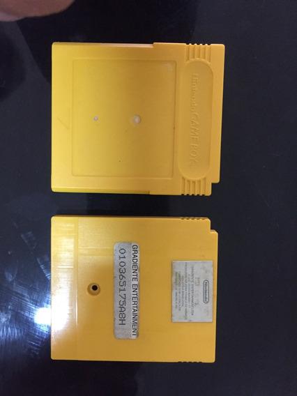 Carcaca Jogo Pokemon Yellow Amarela Game Boy Original