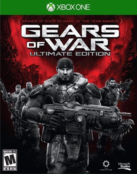 Jogo Gears Of War Ultimate Edition Mídia Física Português Pt
