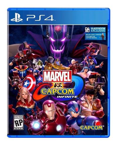Imagen 1 de 2 de Marvel Vs Capcom Infinite Ps4 Fisico Sellado Ade Ramos