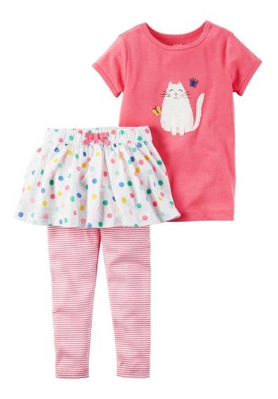 Conjuntos Carters Bebe Niña Vestidos