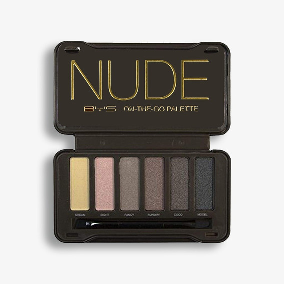 Bys Cosmetics Paleta De Sombras - Nude On The Go