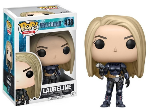 Funko Pop Movies Valerian Laureline #438