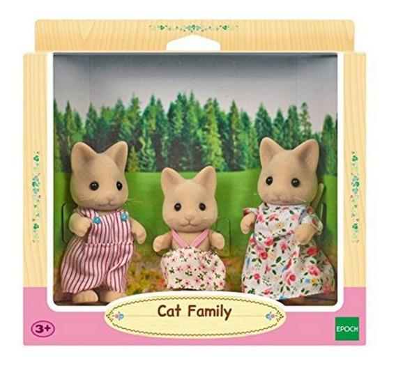 Boneco Brinquedo Família Dos Gatos