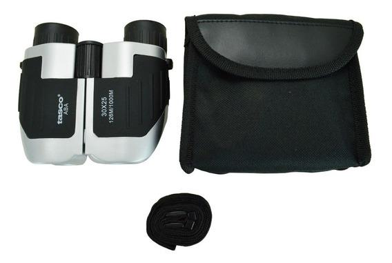 Binóculo Tasco 30x25 Alcance 1km Compacto + Kit Completo.