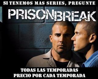 Pelicula Serie Tv Dvd Hd Prison Break Todas Las Temporadas