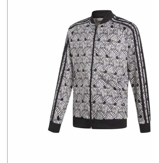 Chamarra adidas,orig.,diseño Zebras(solo Talla Chica)