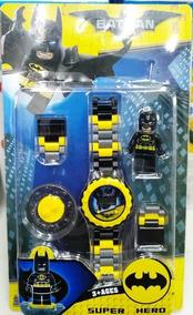 Relógio Infantil Pulseira Personagem Batman Lego