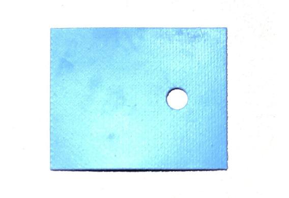 100pc Thermal Pad Isolante 26x20 Silicone Transistor 5200