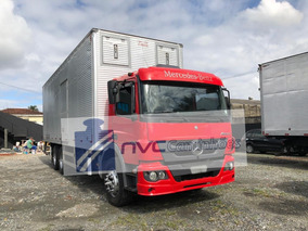 Mercedes Benz Mb Atego 2429 Truck Baú 2013 = Cargo Vw Iveco