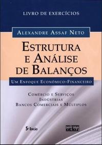 Estrutura E Análise De Balanços - Livro De Exercícios - 5ª E