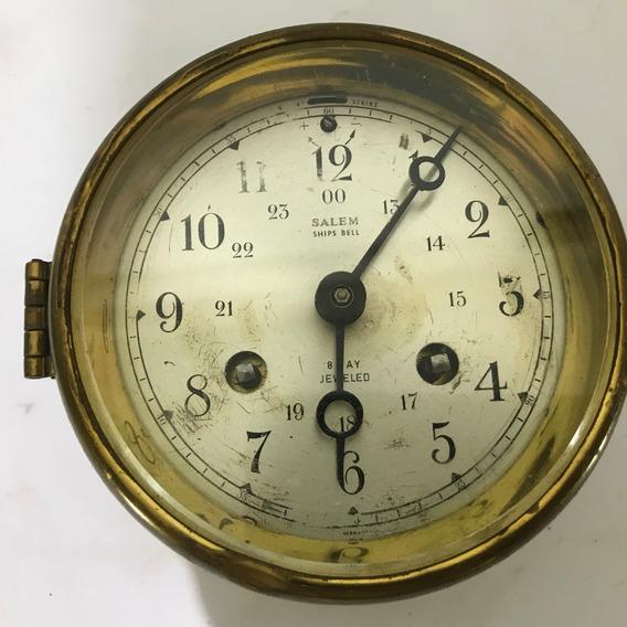 Hermoso Reloj Salem 100% Original Marinero Vintage 8 Dias.