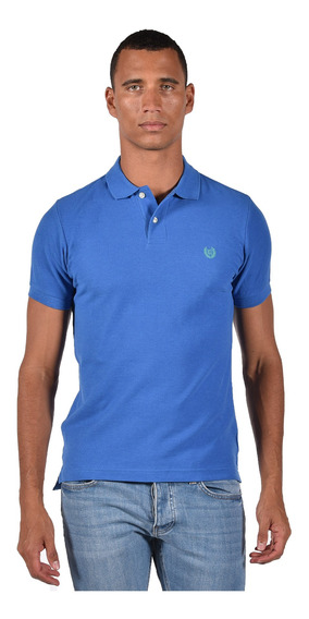 Polo Classic Fit Chaps Azul 750690954-2zhl Hombre