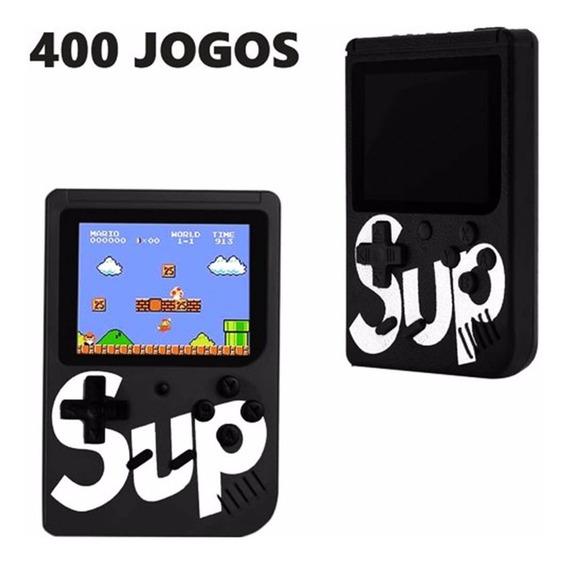 Super Mini Game Portátil 400 Jogos Cabo Av Super Mario Porta