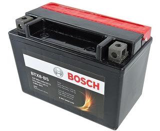Bateria Moto Kawasaki Ninja 300 12v 8ah Bosch Btx8-bs