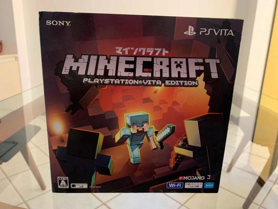 Psvita Minecraft Em Perfeito Estado De Conservação.