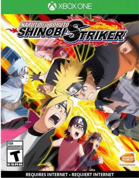 Naruto To Boruto Shinobe Striker Xbox One Mídia Física